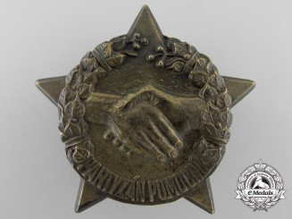 A Second War Czech Partisan Helper Badge