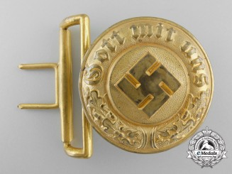 Germany. A Police General's Belt Buckle