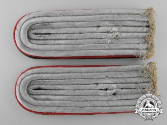A Set of Army Administration Shoulder Boards