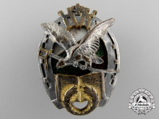 A First War Bulgarian Imperial Cavalry Badge