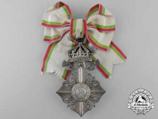 A Bulgarian Order of Civil Merit; Lady's Cross Third Class