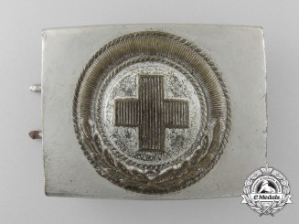 A 1933 Pattern German Red Cross Enlisted Man's Belt Buckle