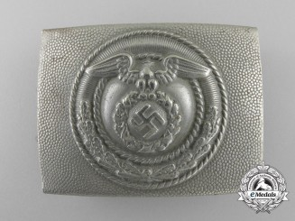 A National Socialist Flying Corps EM Belt Buckle by Nichols and Raimand; Published