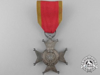 A Schaumburg-Lippe 1869-1918 Silver Merit Cross