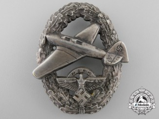 Germany, NSFK. A Pilot's Badge, Type II