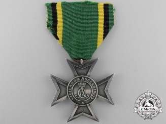 An 1878-1901 Saxe-Weimar Silver Merit Cross