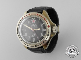 A Soviet Russian Komandirskie Made Soviet Tanker's Wrist Watch