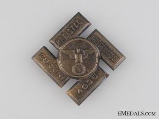 Veteran's Day in Wesermarsch Tinnie, June 28, 1936