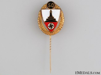 Veterans Association 50 Year Membership Pin