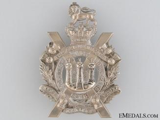 Victorian King's Own Scottish Borderers Glengarry Badge