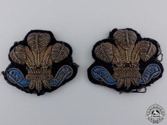 Victorian NCO's 12th Lancers Arm Badges