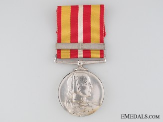 Voluntary Medical Service Medal to Miss Mary White