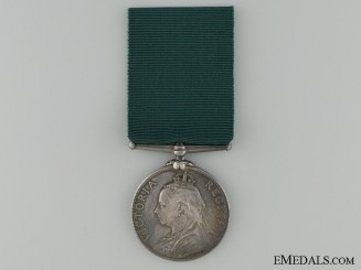 Volunteer Long Service Medal to 1st London Volunteer Artillery