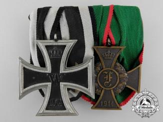 A First War German Medal Bar