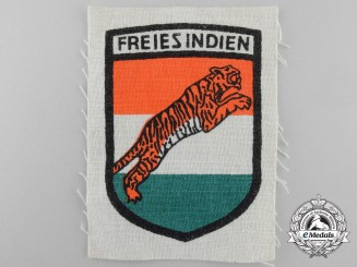 A Legion Freies Indien / Indisches Infanterie Regiment 950 Cloth Insignia