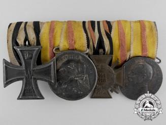 A Very Scarce German Imperial (Baden) Medal Bar