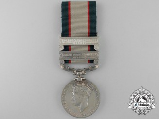 An India General Service Medal 1936-1939 to Sepoy Nurab Shah, Frontier Corps