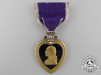 A Second War American Purple Heart to Gordon P. Johnson