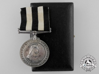 A Service Medal of the Order of St. John to Acting Sister E. Doughty 1943
