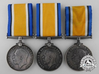 Three British War Medals