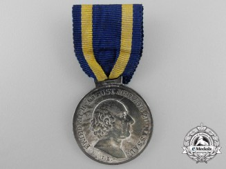 An 1815 German State of Nassau Waterloo Medal