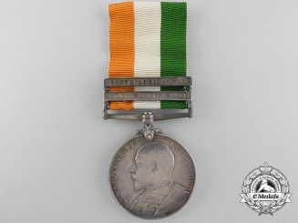 A King's South Africa Medal to the Frontier Light Horse