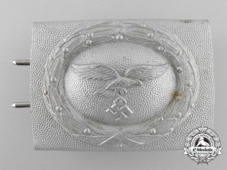 A 1938 Pattern Luftwaffe Enlisted Man's Belt Buckle