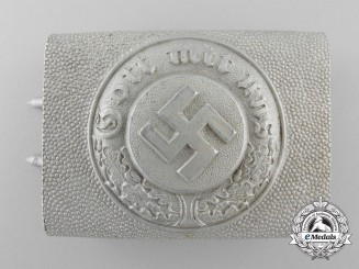 A German Police Enlisted Man's Belt Buckle