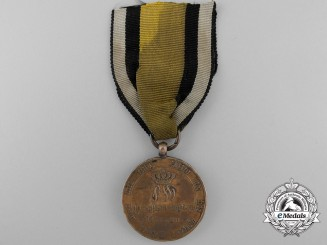 A Napoleonic Prussian War Merit Medal 1813-1814