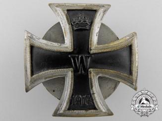 A First War Iron Cross 1st Class 1914; Screwback