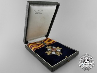 A Order of the Lithuanian Grand Duke Gediminas; 3rd Class Neck Badge