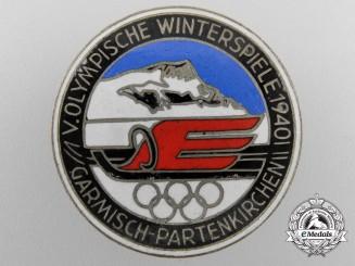 A German Olympischen Winterspiele 1940 in Garmisch-PartenkirchenMedal