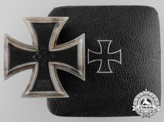 Germany. An Iron Cross First Class 1939 by Steinhauer & Lück with Case