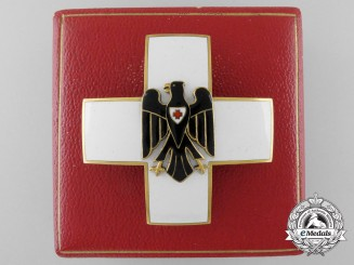 A German Red Cross Decoration Type II by Godet