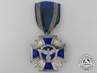 An NSDAP Long Service Award; Second Class