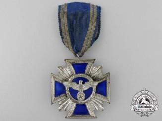 An NSDAP Long Service Award; Second Class