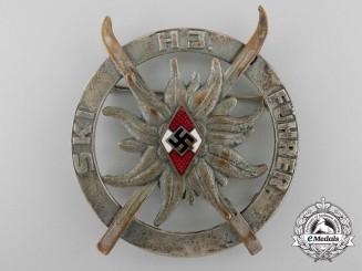 An HJ-Skiführerabzeichen (Ski Leader's Badge) by Wittmann Muchen
