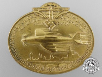 An NSFK Day Badge, Frankfurt, Hessen-Westmark, 1939