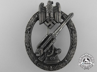 An Army Flak Badge by C.E. Juncker, Berlin