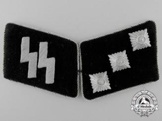 A Mint Set of Waffen-SS Untersturmführer Collar Tabs