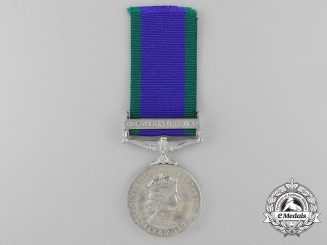 A General Service Medal 1962-2007 to the Queen's Lancashire Regiment
