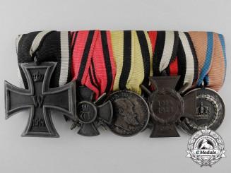 A First War Wurttemberg Merit & Long Service Medal Bar