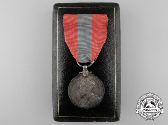An Imperial Service Medal to Henry Newcombe with Case