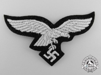 A Hermann Göring Division Panzer or Mechanic's Cap Eagle