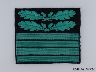 Waffen-SS Cuff Rank Badge for Oberführer (Senior Leader)