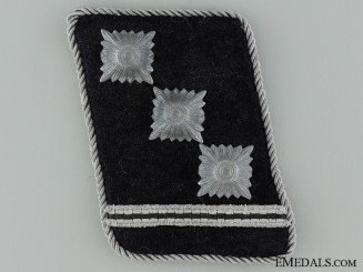 Waffen-SS Obersturmführer Rank Collar Tab
