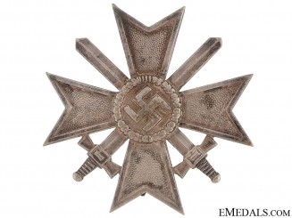 War Merit Cross 1St. Cl. w/Swords – Tombac