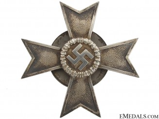 War Merit Cross 1st Class by Wilhelm Deumer