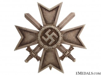 War Merit Cross First Class With Swords