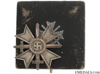 War Merit Cross 1st Class with Swords by Deschler